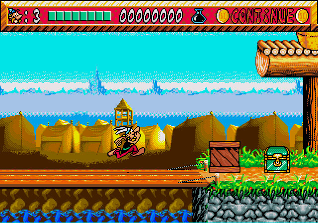Скриншот из игры Asterix And The Power Of The Gods