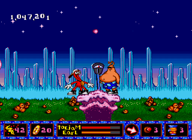 Скачать игру ToeJam & Earl in Panic on Funkotron