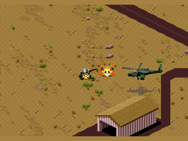 Скачать игру Desert Strike: Return To The Gulf