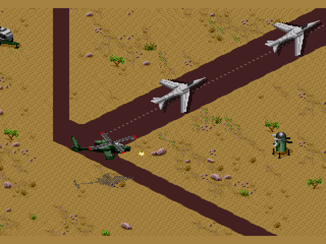 Скриншот из игры Desert Strike: Return To The Gulf
