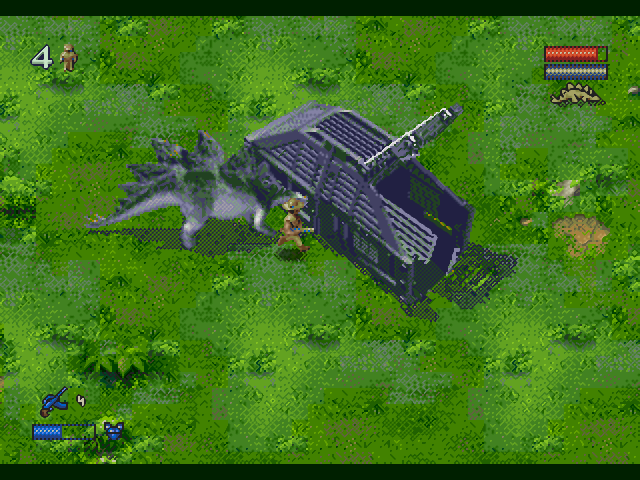 Скачать игру Jurassic Park 2: The Lost World