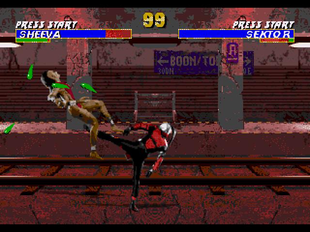 Скриншот из игры Mortal Kombat 3