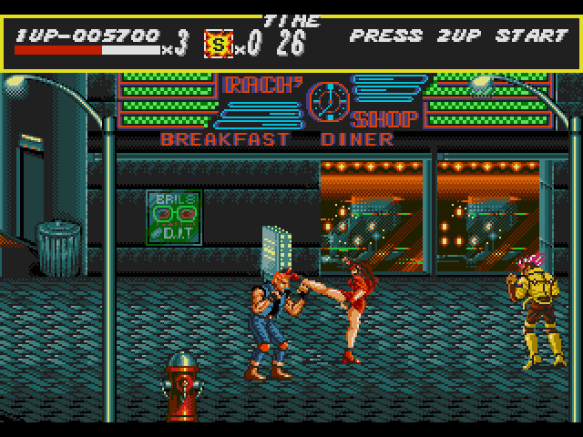 Скачать игру Streets Of Rage (Bare Knuckle)